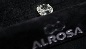 «Алроса» продаст с аукциона алмаз размером с мяч для пинг-понга